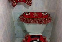 ozdobené WC