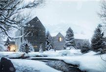 snow render