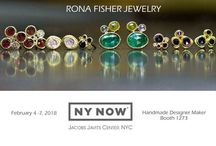 NY NOW 2018 / Rona Fisher Jewelry at the NY NOW 2018.