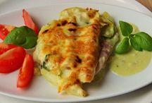 Jídlo ze zeleniny, luštěnin, brambor