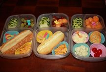kid's snack ideas / by Jennifer Mudd