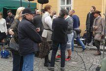 Outlander Filming Prague 2015 / Natáčení 2.serie seriálu Outlander v Praze, září 2015