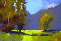 Pastel Tony Allain NZ