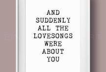 love songs quotes