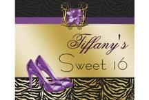 Sweet 16 Invitations / quinceañera / trendy chic sweet 16 invitations, quinceañera invitations, sweet sixteen party invites #sweet16 #chic #invitations