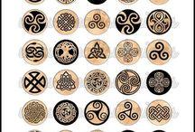 Symbols etc.