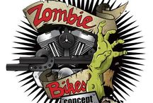 ZOMBIE#1 model by ZOMBIE BIKES CONCEPT / ZOMBIE#1: MODERN BOBBER Harley Davidson We build it to order / Fabrication sur commande www.zombiebikesconcept.com