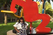 Keith Haring Exhibit Nov 2014 - SF / One of my artist heroes.