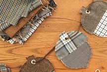 Fall Stitching & Sewing Crafts / DIY fall crafts for the person who likes to sew and embroider!