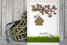 Au coeur du printemps #4enscrap / Les créations de l'Equipe Créative