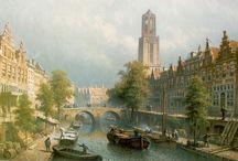 De Dom van Utrecht / De Domtoren en Domkerk (st.-Maartenskathedraal), Utrecht