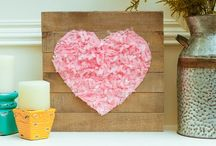 Valentine's Day Crafts Ideas / Show them how much you love them. This board is full of great crafts & gifts that you can create for Valentine's Day.