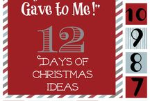 12 days of Christmas / by Julie Anderson