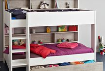 Bunk Beds / Top brand wooden bunk beds for kids and adults, including bunks with storage drawers and shelves, trundle drawers and more.