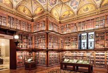 Beautiful Libraries / Libraries, bookstores, homes...wherever the books are! / by Sam T