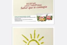 Nuestro trabajo - Prinsa / Reingeniería de marca, diseño de etiquetas para producto.
