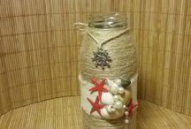 Декор из  бутылок / #ваза #бутылка #vase #bottle #handmade