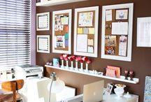 Studio, Contemplation, Organizing....