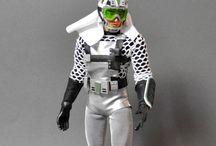 "SAN KU KAI Fantome 12"" custom figure / Figure 12"" custom of Fantome from San Ku Kai japanese tv program"