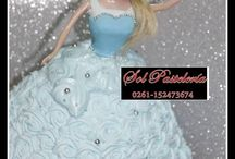 Pastel/Torta Frozen