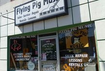 About Flying Pig Music / Directions and Contact