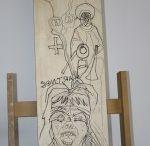 Susanne Haun - woodcuts
