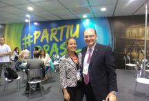 International Tourism Expo / Priscilla Silva participating in Brazil's largest tourism fair  / by HotelPlanner
