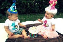 Twin 1st Birthday