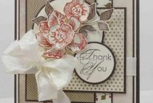 Cards - Thank You / Ideas for handmade Thank You cards.