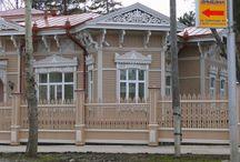 Wooden architecture 18-20 century