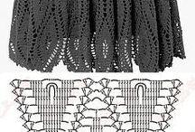 Spódniczki i inne na szydełku