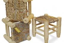 Objets en matériaux recyclés