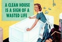 clean...organize...bleh / by Nikki Brewer