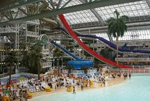 World's Largest Water Parks / Tour of some of the largest indoor and outdoor water parks in the world.