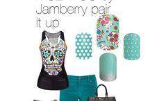 jamberry combos / by Melissa Macias