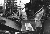 1995.01.17 05:46:52「阪神淡路大震災」 / これは、震災発生後 7-10日後の写真です。(持っていたフィルムの大半が白黒フィルムでした)