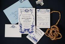 Stationery Inspiration for Nantucket Weddings