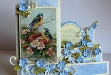 Cards - Stair Step, Tri Folds,Box Cards, Special Folds / Various sizes and layouts, with some templates/tutorials.  These stunning cards are NOT as difficult as they appear.  Try them! / by Diane Loy