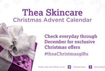 Christmas by Thea Skincare. Visit us at http://www.theaskincare.com/ / Premium, organic and natural skincare gifts! For all skin types and especially kind to sensitive skin. Give some Christmas magic with our beautiful blends of essential oils, premium ingredients and gorgeous scents. It's a wrap! Spend £50 for FREE NEXT DAY DELIVER and a FREE Coconut and Jojoba Handcream for cared for winter hands. Check out our stocking fillers under £10!