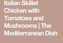 Cooking chicken dishes