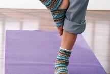 Knitting, Crochet projects