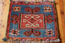New Arrivals / Lots of Lovely Antique Persian and Kurdish Prayer Rugs and Bag Faces Now In