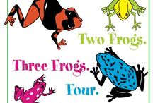 One Frog. Two Frogs. Three Frogs. Four. / A great read-aloud book that's also perfect for the beginner reader and offers a subtle life lesson about kindness and thinking of others in a fun, unobtrusive manner. This perfect addition to home and classroom library also boosts color and counting confidence. http://www.amazon.com/One-Frog-Frogs-Three-Four/dp/1518822649 / by Buffy Andrews