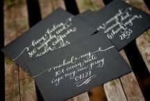 Calligraphy / by Cristina Hallock