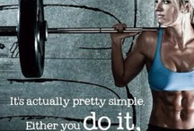 Get Ripped / The best work outs to stay fit, firm and healthy.