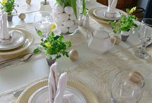 Seasonal Table Decoration / Different seasonal table arrangements