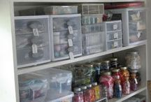 craft room organizatin