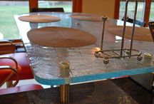 Custom Glass ideas for Kitchens / Exemplify the look of your kitchen with these great custom glass tables, and countertops.