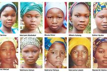 the faces of the Nigerian kidnap victims