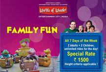Amusement Park Offers, Deals & Discount / Get the best offers, deals and discount of Worlds of Wonder Amusement Park.